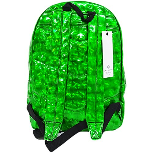 Just Hype  Emerald Crystal, Herren Schultertasche grün Emerald Crystal Einheitsgröße