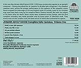 Johann Adolf Hasse: Complete Solo Cantatas, Vol. 1