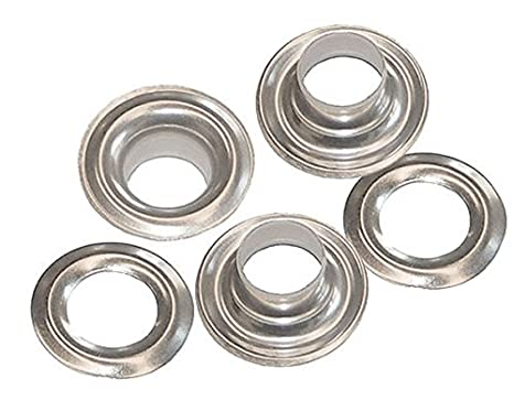 """C.S 144 Sets 3//8/"""" Hole Osborne Stainless Steel Grommets With Washers #SS-2"""