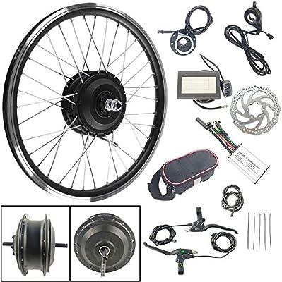 Schuck Kits de conversión de Bicicleta eléctrica, Motor de Rueda ...