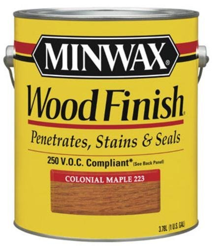 Stain Maple Colonial (Minwax 71075 1-Gallon Colonial Maple Oil Based Interior Stain by Minwax)