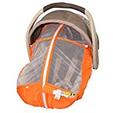 Best Summer Infant Summer Infant Baby Carriers - Petit Coulou Summer Car Seat Cover, Orange Review