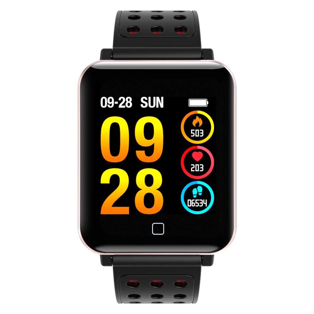 Cebbay Reloj Inteligente Rastreador de Fitness para Correr ...