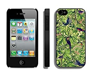 BINGO Casual Bird iPhone 4 4S Case Black Cover