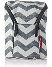 Skip Hop Insulated Breastmilk Cooler And Double Baby Bottle Bag