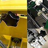 uxcell 2Pcs Star Knob Grip M8 x 40mm Male Thread