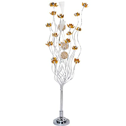 wholesale dealer d40f7 7eec1 Amazon.com: Modern Artificial Flowers LED Lights Aluminium ...
