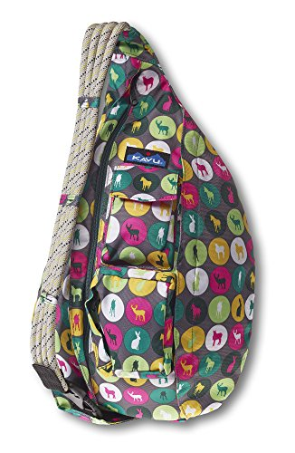 KAVU Rope Sling Bag, Animal Dot, One Size