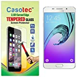 Casotec 2.5D Curved Edge Tempered Glass Screen Protector for Samsung Galaxy A3 (2016)