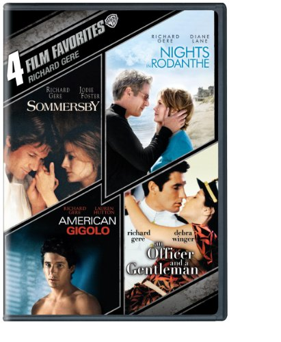 4 Film Favorites: Richard Gere (Sommersby, Nights in Rodanthe, American Gigolo, An Officer and a Gentleman) by Paramount Catalog