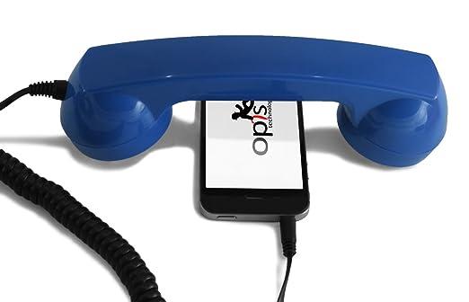 16 opinioni per Opis 60s micro azul (ricevitore per cellulari / cornetta per smartphone)