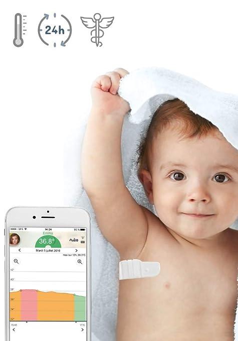 cuanto es la temperatura normal de un bebe en estados unidos
