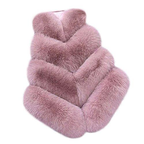 肝予感に沿ってMIOIM ファーベスト レディース フェイクファー コート 華やかに魅せる暖か アウター トレンド 毛皮 袖なし 大きいサイズ 春秋冬 防寒コート