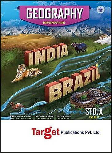 10th SSC Geography Notes English Medium Maharashtra Board: Amazon in