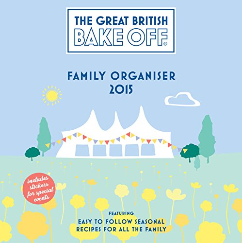 [R.e.a.d] Official Great British Bake off 2015 Family Organiser Square P.P.T