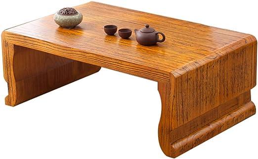 Liuwubing Mesa de Centro Mesa de Tatami Antiguo Antiguo Olmo Mesa ...