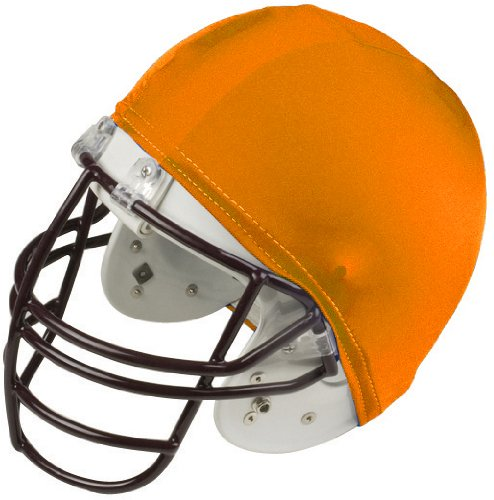 Champion Helmet Covers - Orange Color (Pack of 12)