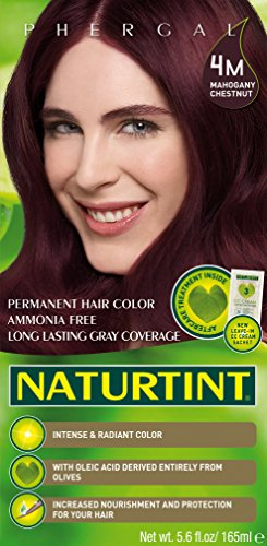 Naturtint Permanent Hair Color - 4M Mahogany Chestnut, 5.6 Fluid Ounce (Pack of 6) by Naturtint (Image #1)
