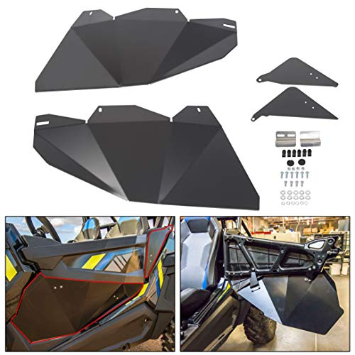 ECOTRIC Lower Door Insert Panels for 2014-2019 Polaris RZR XP 1000 4-Door 2016-2019 Turbo 4-Door 2015-2019 RZR 900 4-Door Aluminum Bottom Doors