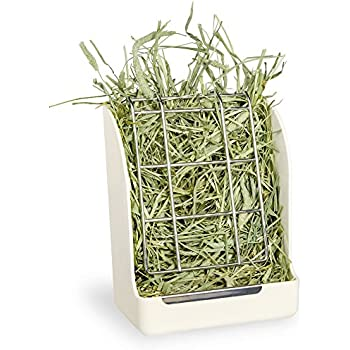 Mkono Hay Feeder Manger Rack for Rabbit Guinea Pig Chinchilla