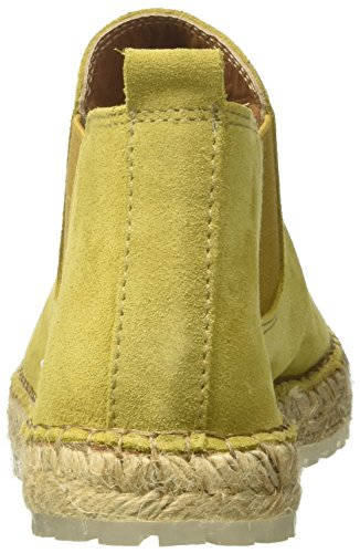 Shabbies Espadrilles Boot dark Women''s Ankle Mustard Yellow 6018 qqBPa4wR