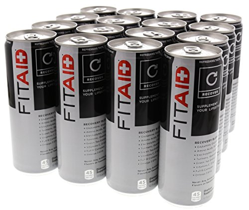 LifeAid Beverage Company FitAid Citrus 16 - 12 fl. oz. Cans