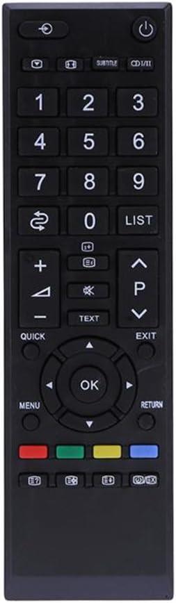 junkai Control remoto para Toshiba LCD/LED - RM-L890, control remoto universal de TV, control remoto ideal de reemplazo de TV con las mismas funciones que el control remoto original de Toshiba: Amazon.es:
