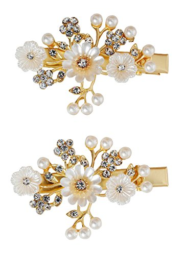 Vogue En Flower Hair - Vogue Hair Accessories Hair Clip Shell Flowers Hair Pins (Style-1)