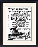 Framed Print Of Imperial Airways