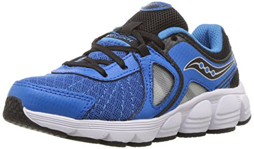 (Saucony Kotaro 3 Running Shoe, Blue/Black/Silver, 12 M US Little Kid)