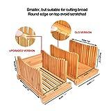 Flurff Bamboo Bread Slicers for Homemade