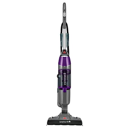 Bissell Symphony Pet Steam Mop And Steam Vacuum Cleaner For Hardwood And  Tile Floors, With