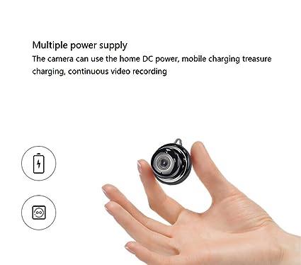 Amazon.com: Mini cámara HD 2 millones de píxeles WiFi 1080P ...