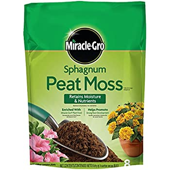 Miracle-Gro Sphagnum Peat Moss, 8-Quart (currently ships to select Northeastern & Midwestern states)