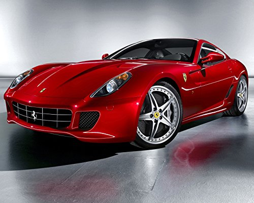 (Ferrari 599 GTB Fiorano Poster Car Poster Wall Decoration High Quality 16x20)
