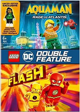 Amazon Com Lego Dc Super Heroes Aquaman The Flash Dbfe Dvd W Figurine Various Various Movies Tv