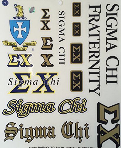 sigma-chi-full-sheet-of-stickers-16-total-stickers