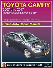 Toyota Camry Online Auto Repair Manual: 2007 thru 2017 - Includes Avalon & Lexus ES 350 (Haynes Automotive)
