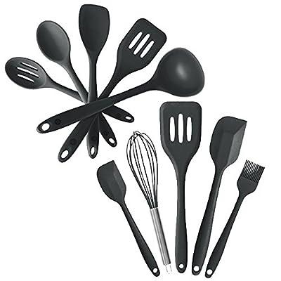 StarPack Value Bundle - Premium 5-Pc Silicone Kitchen Utensils and Premium 5-Pc Silicone Mixed Kitchen Utensils