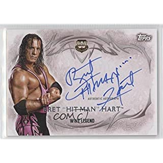 Bret Hart Bret Hart (Trading Card) 2015 Topps WWE Undisputed - Autographs #UA-BHH