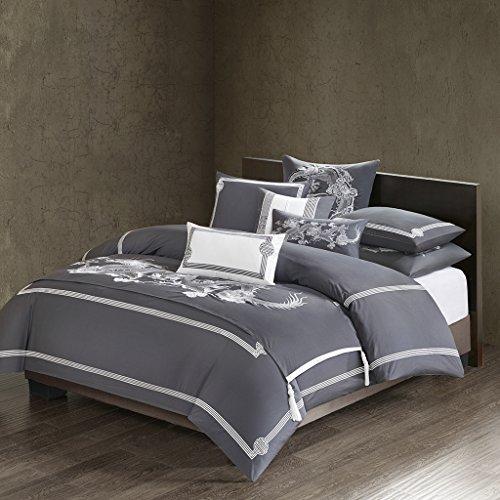 Natori Sterling Dragon Bed Runner,