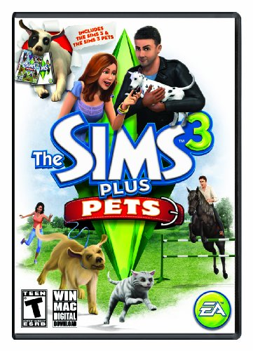 The Sims 3 Plus Pets (Mac) [Online Game Code] (Sims 3 Plus)
