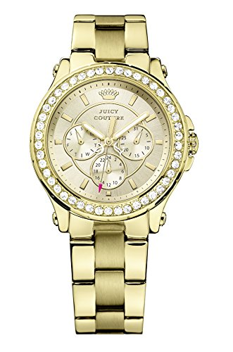 Juicy Couture - Wristwatch, Analog Quartz, oro giallo