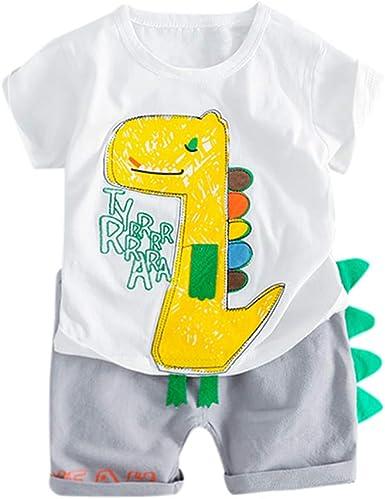 Berimaterry Conjuntos Camisa Bebé Niño Recién Nacidos Bebe Niño ...