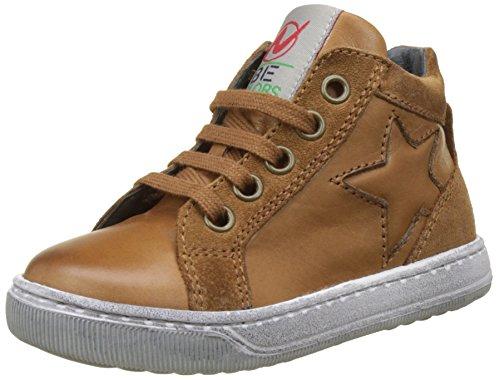 Naturino Jungen Clay Star Hohe Sneaker Braun (Cognac)
