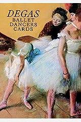 Six Degas Ballet Dancers Cards (Dover Postcards) Paperback