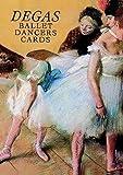 Six Degas Ballet Dancers Cards (Dover Postcards)