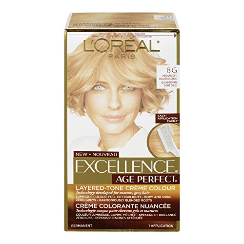 l 39 oreal paris hair color excellence age perfect layered. Black Bedroom Furniture Sets. Home Design Ideas