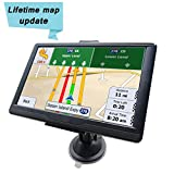 GPS Navigation Systems for Car 7 Inch 8GB 256MB Touch Screen GPS Navigation for Car with Lifetime Maps, Spoken Turn-by-Turn Directions