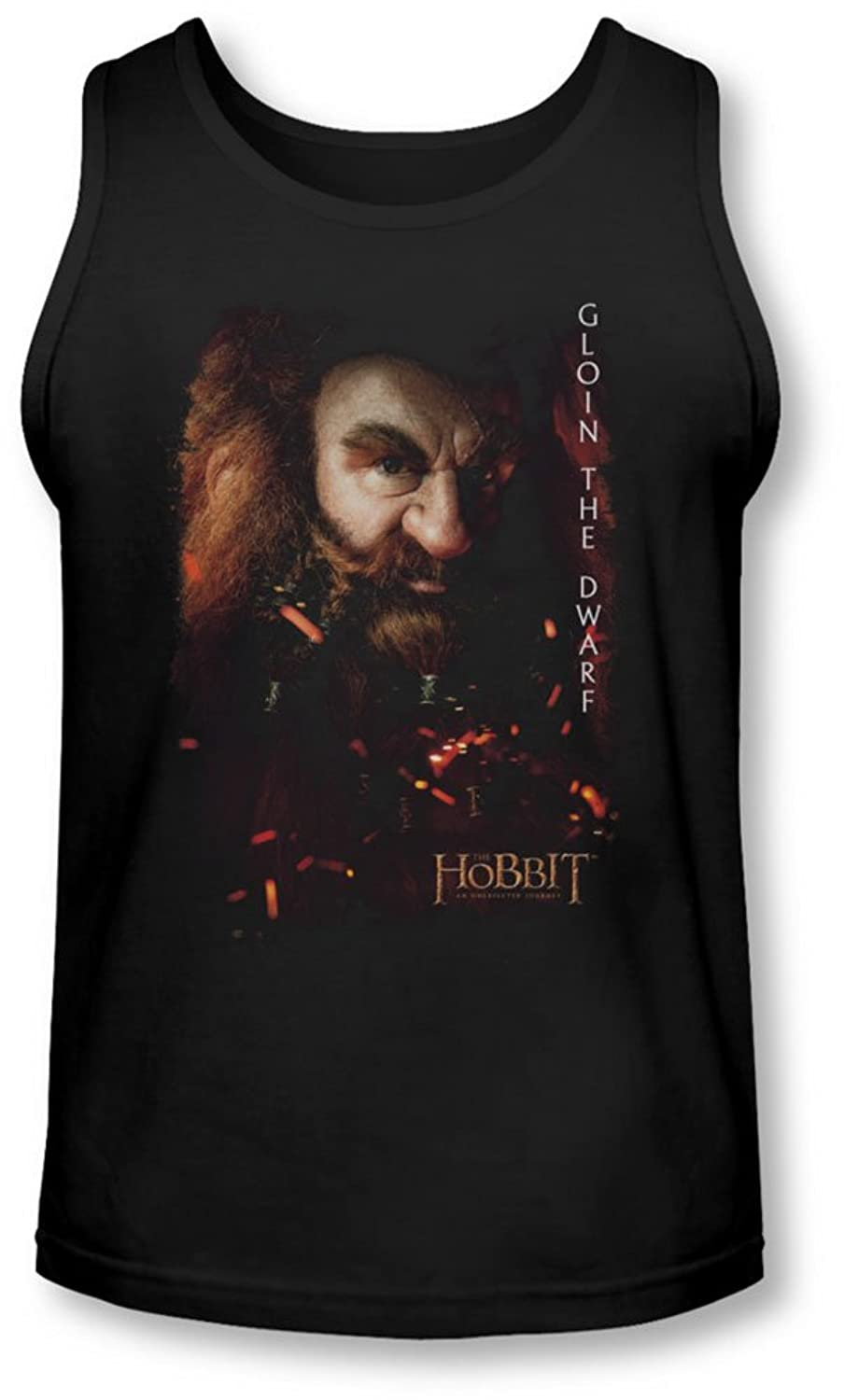 The Hobbit - Mens Gloin Poster Tank-Top